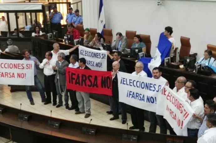 Farsa electoral, elecciones en Nicaragua, elecciones nicaragua
