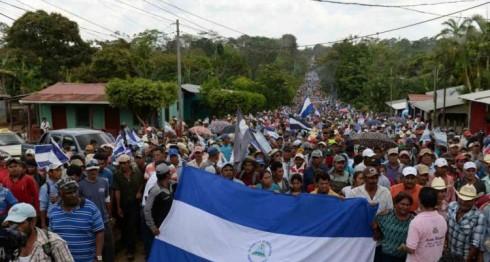 Nicaragüenses, derechos, humanos, campesinos