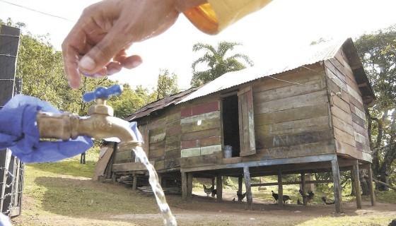 agua y saneamiento, zona rural, Nicaragua, agua potable, Iniciativa Paragua