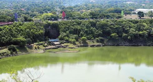 Tiscapa, Laguna de Tiscapa, Managua