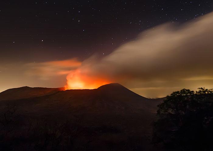 Volcán Masaya, volcanes de Nicaragua, cráter santiago, Masaya