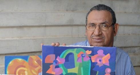 Pintor Pablo Antonio Aburto. LAPRENSA/ARNULFOAGÜERO