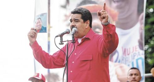 Maduro, Parlamento de Venezuela