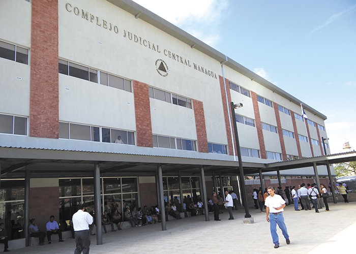 PGR, Juzgados de Managua