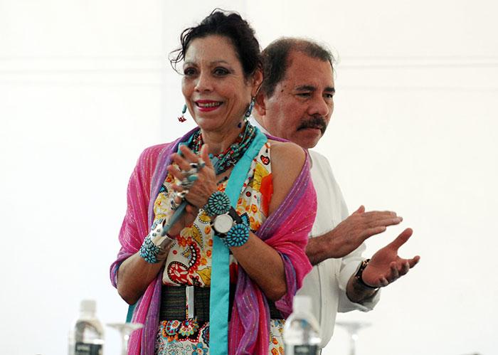 Rosario Murillo, vicepresidenta de la República asignada por el Consejo Supremo Electoral (CSE). LA PRENSA/ ARCHIVO