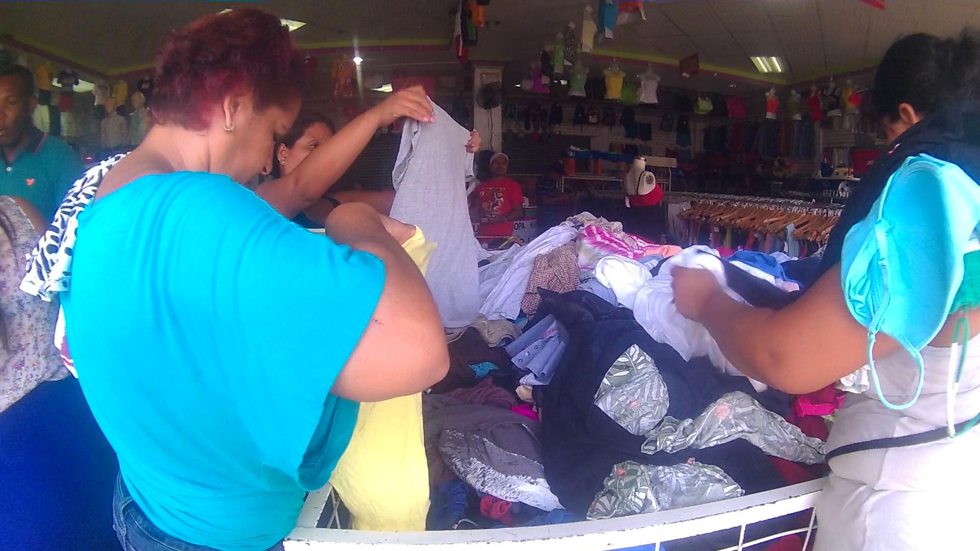 ropa usada, economía, Nicaragua