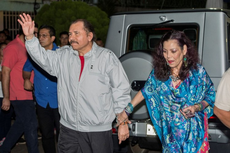 FSLN, Daniel Ortega, elecciones en nicaragua, Nicaragua, Rosario Murillo