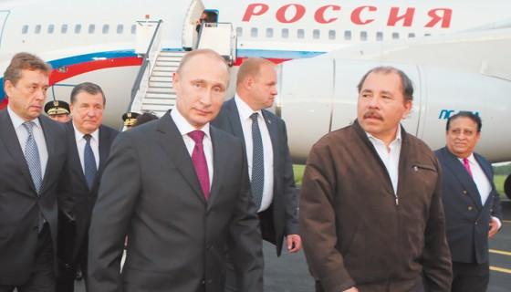 Rusia , Daniel Ortega