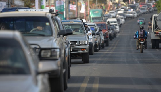 tráfico, Managua