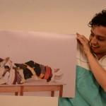Camisas, instalación de fotografías, de Sebastián Rodríguez. LAPRENSA/URIEL MOLINA