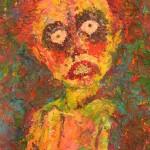 Sin titulo, pintura de Elizabeth López. LAPRENSA/URIEL MOLINA