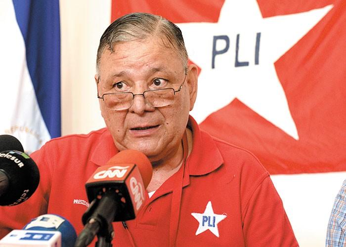 Pedro Reyes, expresidente del PLI. LA PRENSA/Uriel Molina