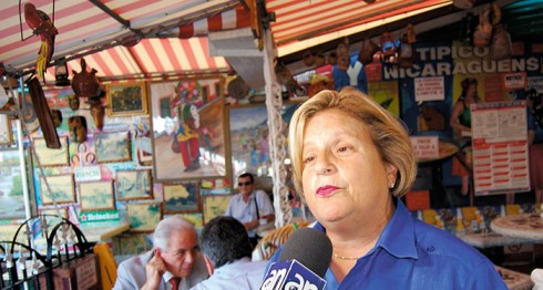Ileana Ros-Lehtinen, la congresista norteamericana nacida en Cuba que coimpulsó la Nica Act. Foto: LA PRENSA.