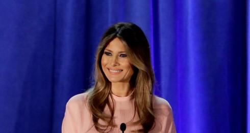 Melania Trump. LA PRENSA / AP Photo/Patrick Semansky