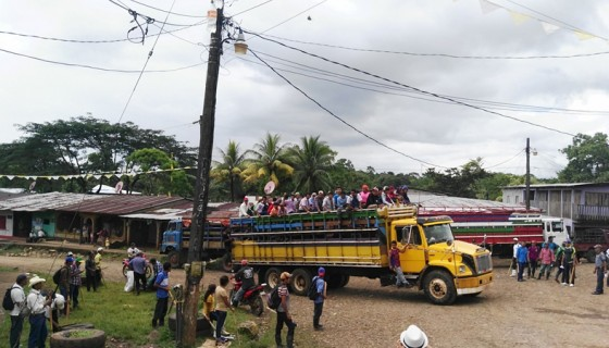 caravana anticanal, canal interoceánico, canal de Nicaragua, marcha contra el canal