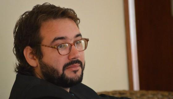 Sergio García Zamora ganó el Premio Internacional de Poesía Rubén Darío 2016 con un diálogo entre personajes ilustres de las artes, la pintura y la escritura. Fotografía de Marta Leonor González