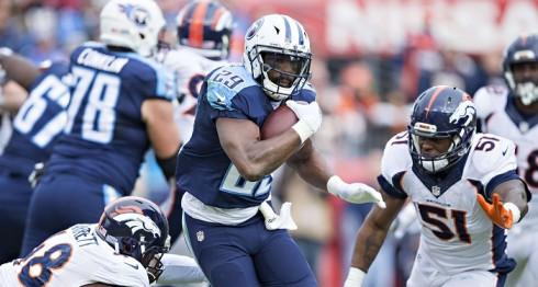 DeMarco Murray fue el responsable del triunfo de los Titans ante los Broncos. LA PRENSA/Wesley Hitt/Getty Images/AFP