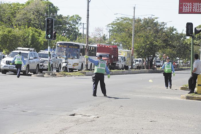 Policía, Policía de Nicaragua