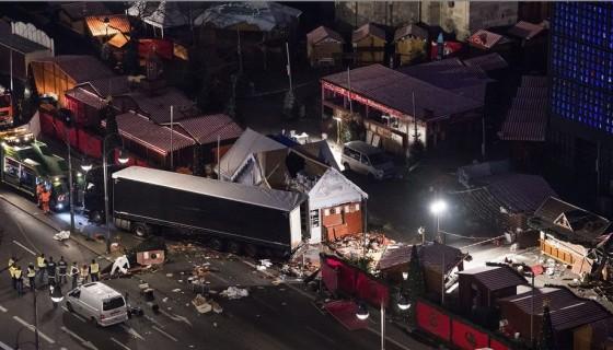 Berlín, atentado, mercado navideño
