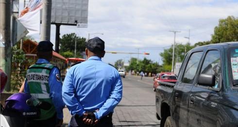 policía, Nicaragua, accidentes de tránsito, sobornos. corrupción