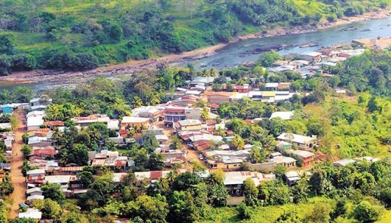 Pobladores de Apawás, Centrales Hidroeléctrica de Nicaragua, Tumarín