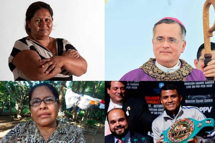 personaje del año, Francisca Ramírez, Nilamar Alemán Mora, Chocolatito, Moseñor Báez