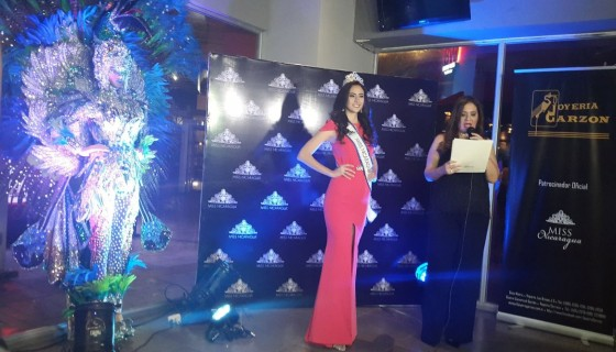 Marina Jacoby, Miss Nicaragua 2016, Miss Universo