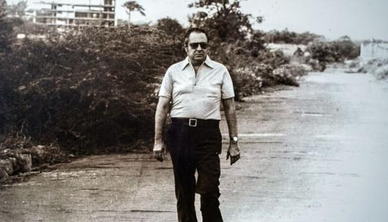 La famosa fotografía de Pedro Joaquín Chamorro Cardenal. Foto: Cortesía de la familia
