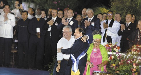 dinastía familiar, Daniel Ortega, Rosario Murillo, Nicaragua