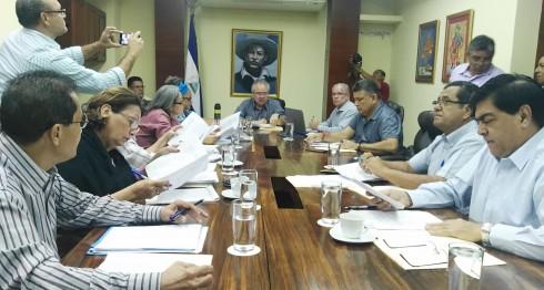 comisión de Gobernación, Maximino Rodríguez, PLC, PLI; ALN, FSLN, Asamblea Nacional, comisiones