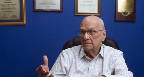 Enrique Bolaños Geyer, Presidente de Nicaragua entre 2002 y 2007. LA PRENSA / Jader Flores.