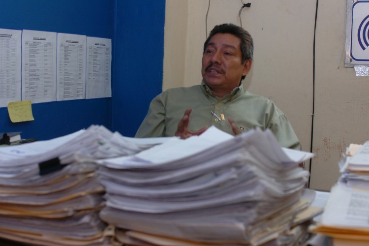 El director del Indec, Marvin Pomares, resaltó que en 2016 aumentaron las denuncias por afectaciones a los consumidores. LA PRENSA/ ARCHIVO
