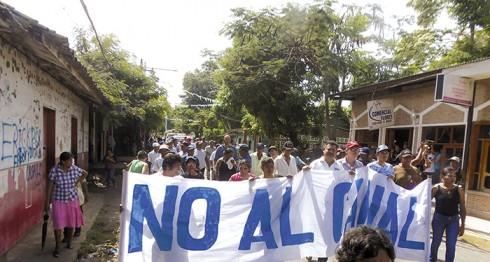 marcha, derechos humanos, Nicaragua