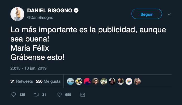 Daniel Bisogno responde