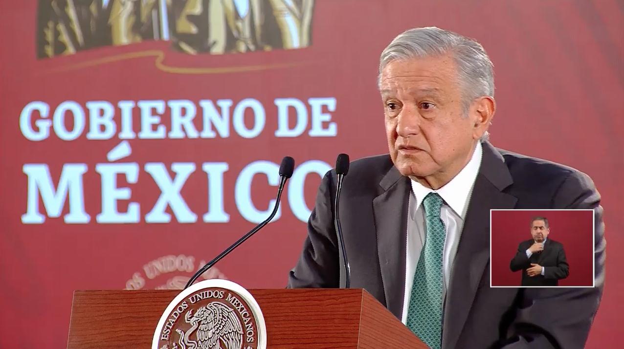 Andrés Manuel López Obrador Condonación de impuestos