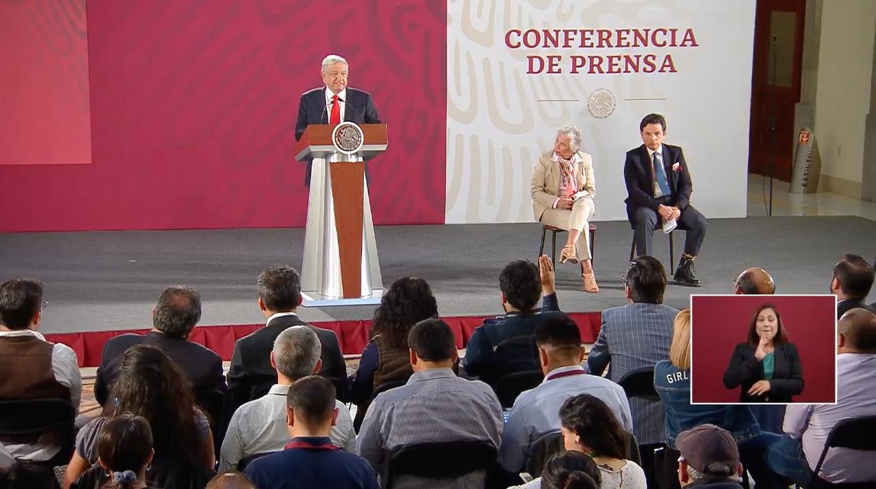 Andrés Manuel López Obrador EN LA MAÑANERA