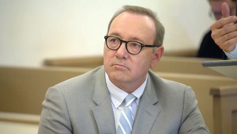 Kevin Spacey en su audiencia