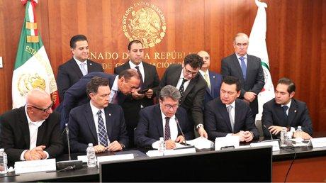 Grupos parlamentarios en el Senado avalan leyes secundarias de Guardia Nacional