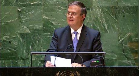 México pide ante la ONU poner fin al embargo a Cuba