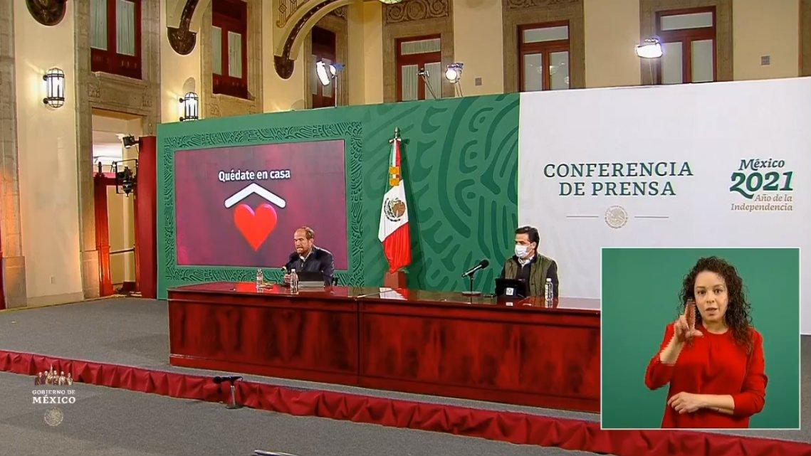 COVID-19: 1´524,036 casos en México; 133,204 defunciones