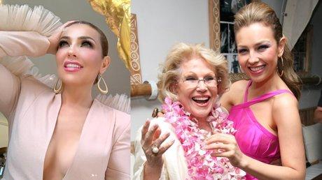 Thalia y Yolanda Miranda