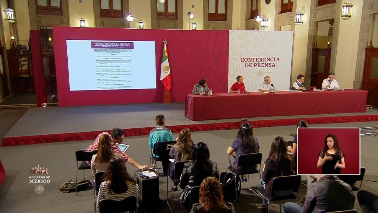 conferencia prensa covid