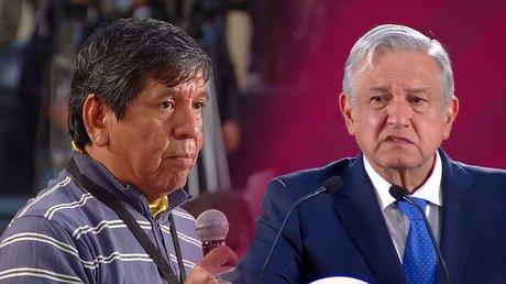 Héctor Valdez encara al presidente AMLO