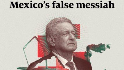 The Economist dedica portada a AMLO, lo califica como