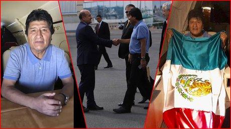 mesanje de evo morales a mexicanos