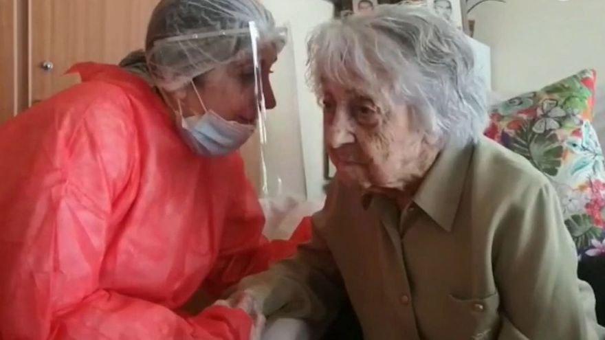 La española más anciana supera el coronavirus con 113 años