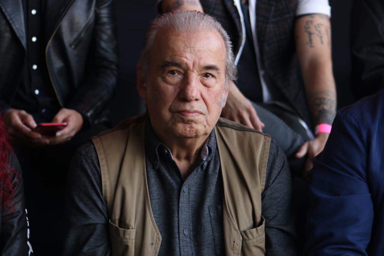 Óscar Chávez en el Vive Latino. Fotografía: Gustavo Azem.