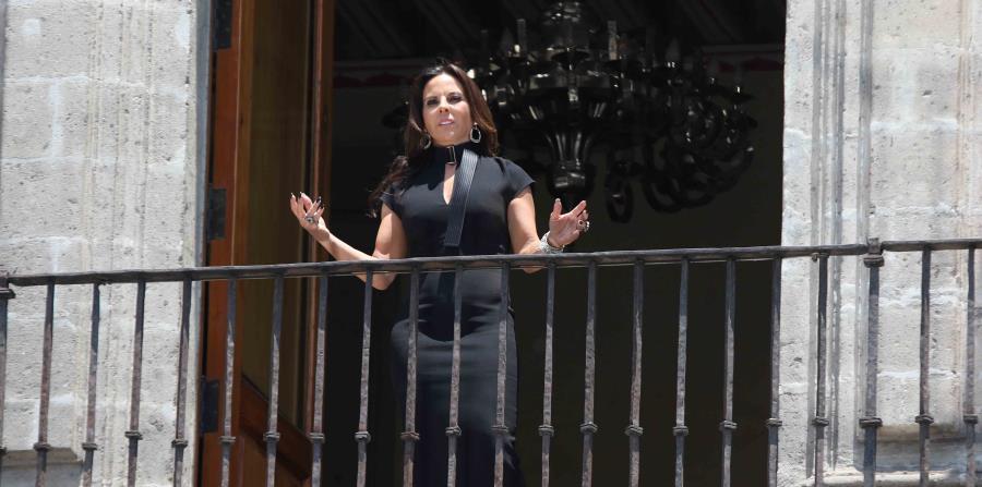 La actriz durante una escena de la película. (EL UNIVERSAL/ GDA / Carlos Mejía)