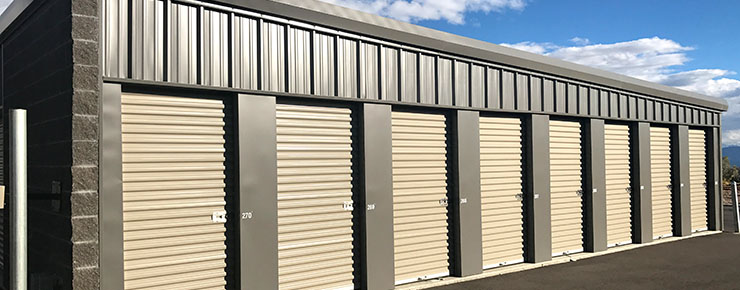 What We Offer. Secure Storage Units