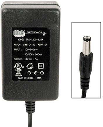 MG Electronics SPS-12DC1.5A Ultra Compact 12VDC AC Adapter-sps-12dc-1-5a_1_1.jpg